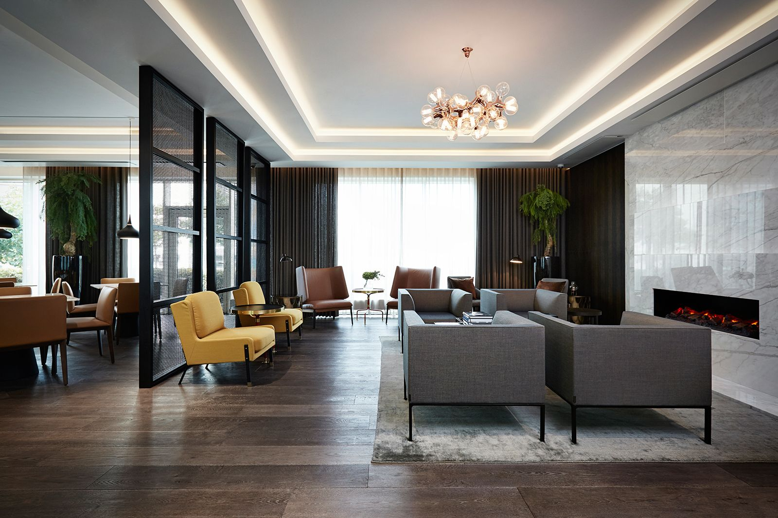 Marriott copenhagen executive lounge helle flou interior