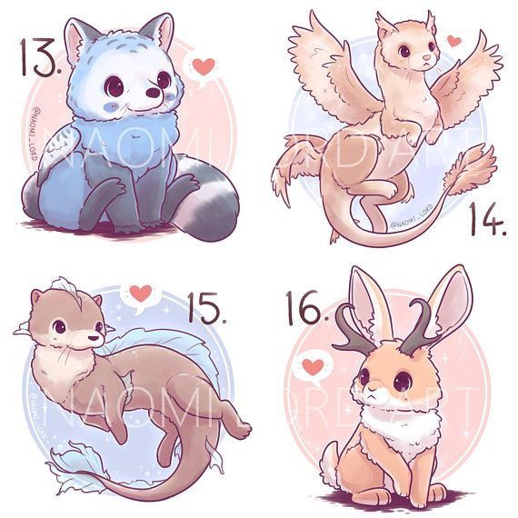 These Are So Cute Cute Animal Drawings Kawaii Animal Drawings Cute Kawaii Animals