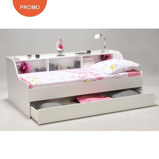 Lit Rangement Wylene 90 X 190 Cm Bedroom Ideas In 2019