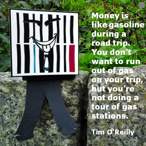 Pulzing quote Cheeky Znarf : Yes, to have money is ok. But there is more to life. Enjoy the trip of life not the petrol. Be reflective. Be real. PULZING www.thierjungberlin.com www.pulzing.com  #unternehmer #businesscoach #businesscoaching #businessowner #zitate #businessman #businesswoman #businessmen #businesswomen
