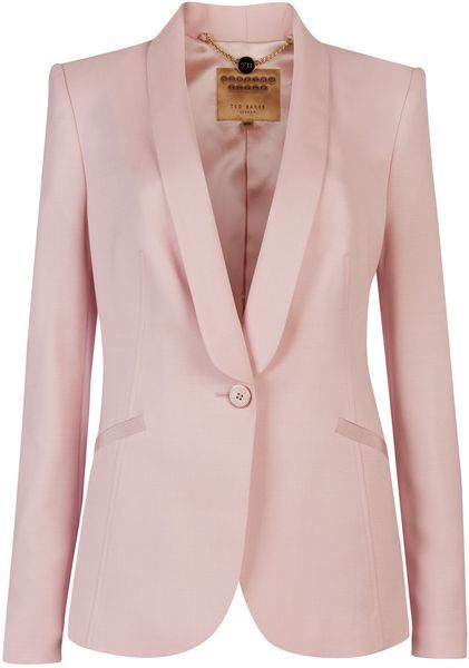 fb5307f0f TED BAKER LONDON Jayne Tuxedo Suit Jacket - Lyst