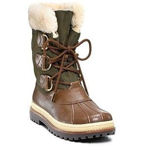 women's fur lined duck hunting boots | Tory Burch Fur Lined Duck ...