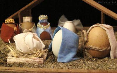 EGG BLOWING 101 | Blown eggs, Nativity scene, Nativity