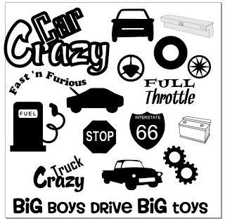 creative fun connection free car crazy svg silouhettes