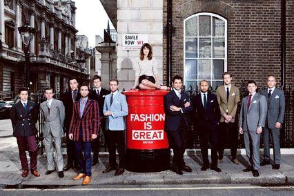 David Gandy Blog - London Mens Collections London Fashion Week June 2012 (Vogue.com UK)