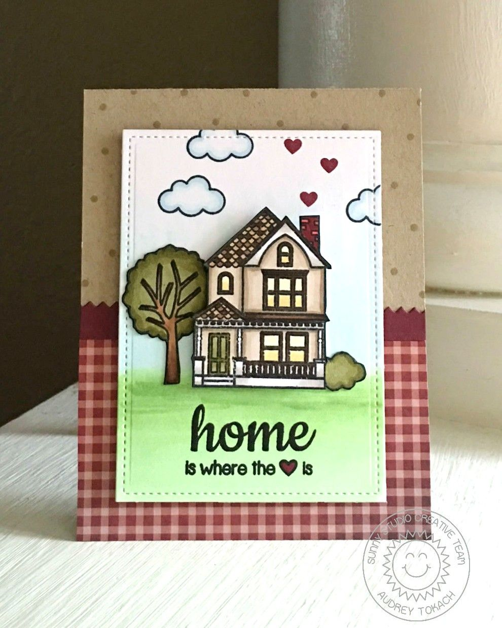 Card house home tree home is where the heart is sunny studio cards card house home tree home is where the heart is sunny studio kristyandbryce Gallery
