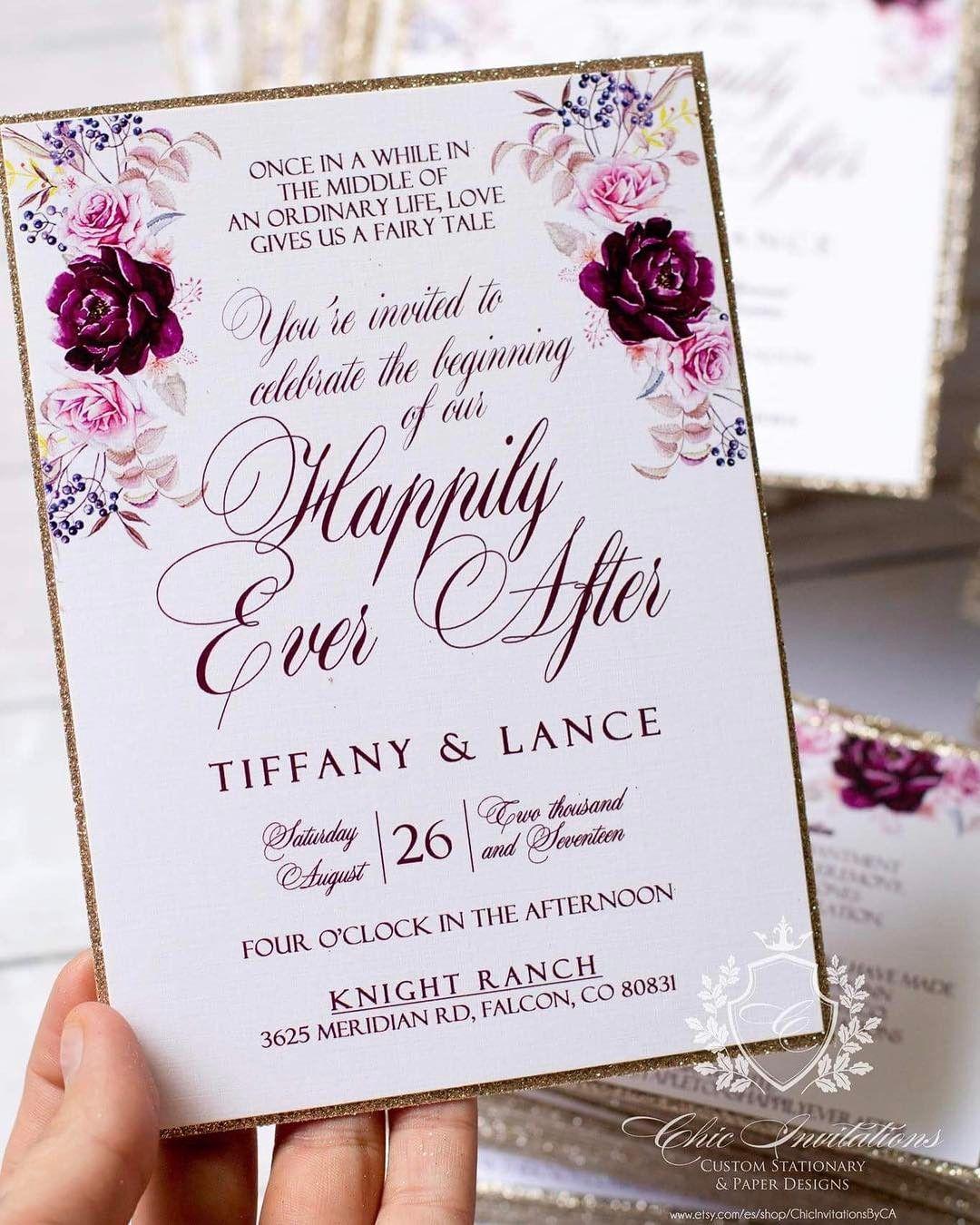 Wedding Invitations Fresno Ca: Finishing These Luxury Wedding Invitations