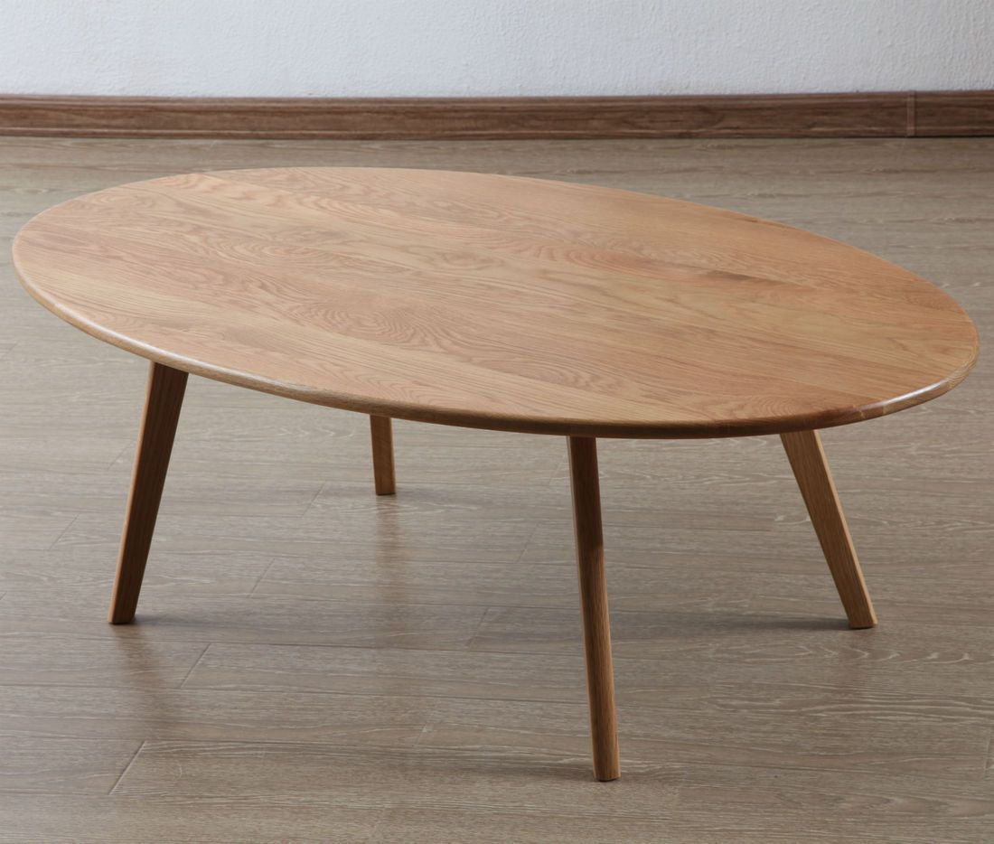 Magnus Oval Coffee Table Solid Oak 130x75x43cm Icon By Design Oval Coffee Tables Coffee Table Solid Coffee Table
