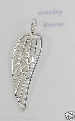 Silpada Quot Free Bird Quot Angel Wing Pendant S3501 925 Sterling