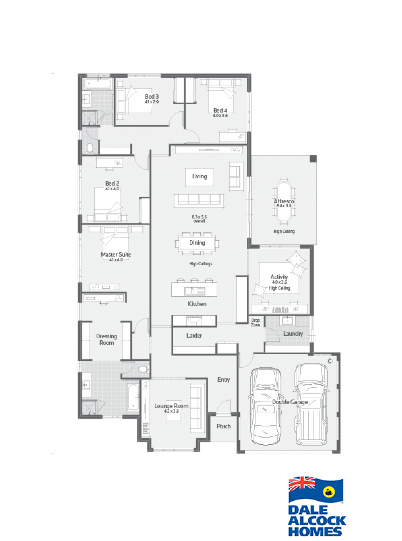 plans Bedroom House Floor Plans Single Story Awesome