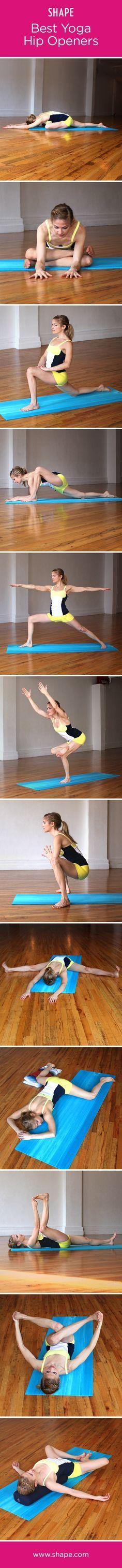 Some people have naturally open hips and, therefore, hip openers in yoga feel like heaven. For others who have tight hips or hips that have been made tight by r