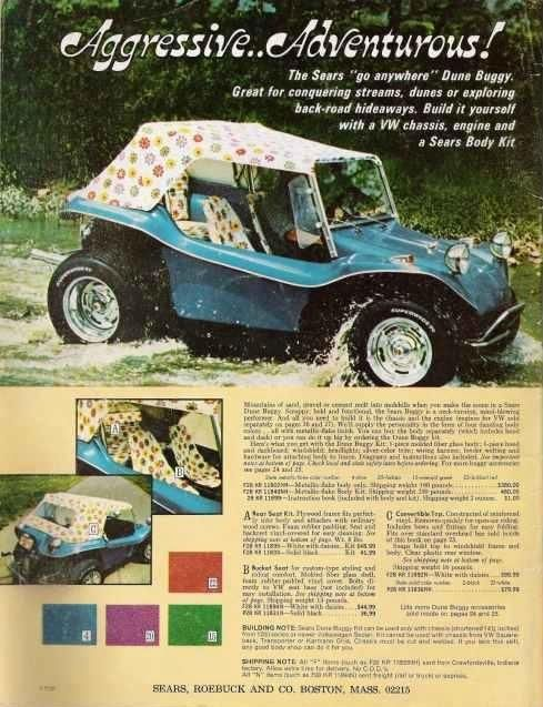 Just a car guy those goofy 1970s you could buy a dune buggy from just a car guy those goofy 1970s you could buy a dune buggy from sears with a flower dotted top solutioingenieria Gallery
