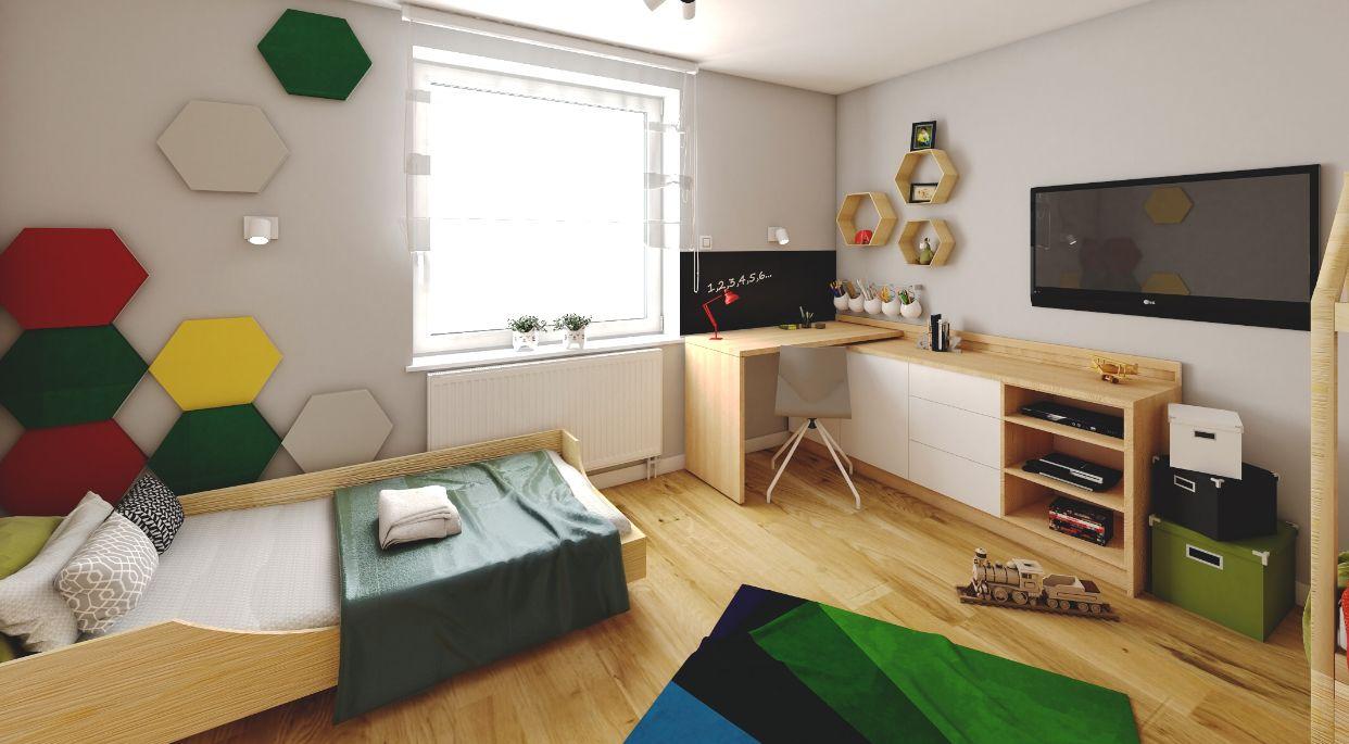 Pokój Dla Super Chłopców Projekt Pokoju Dziecięcego Studio K
