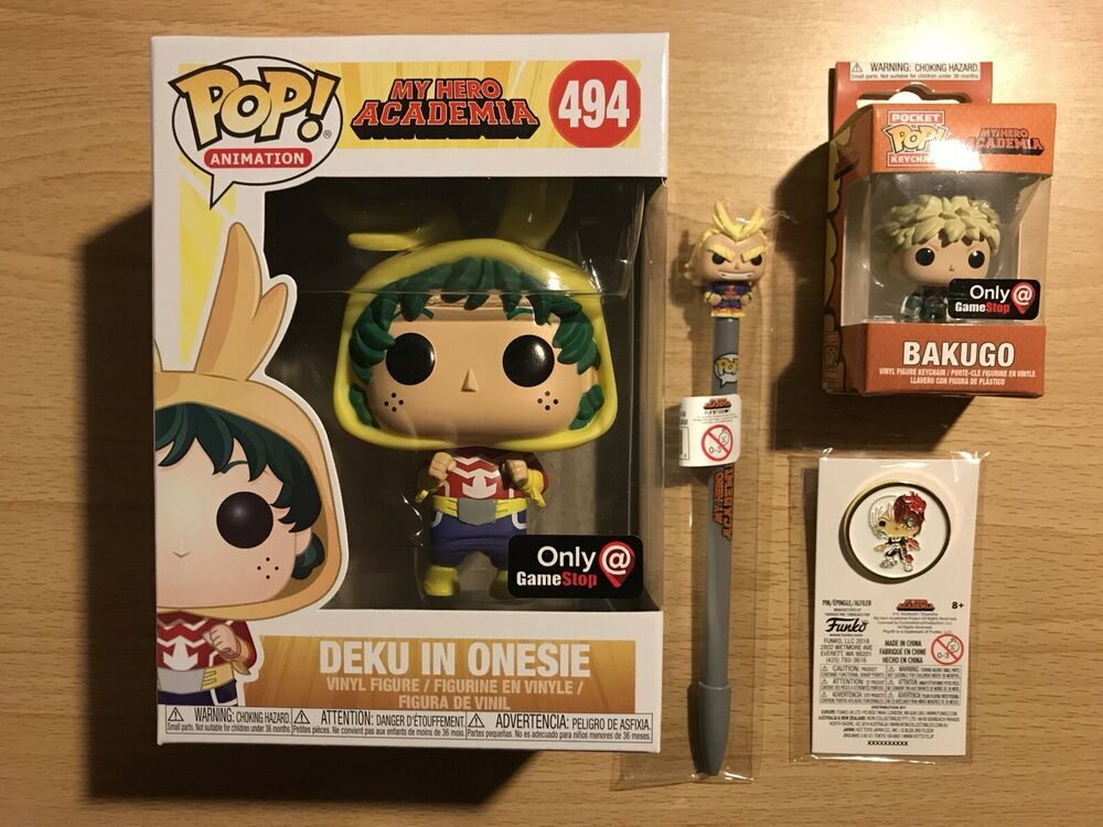 9fa9bb2b3c2 Funko Pop My Hero Academia  Deku in Onesi (Small Might!) (Gamestop ...