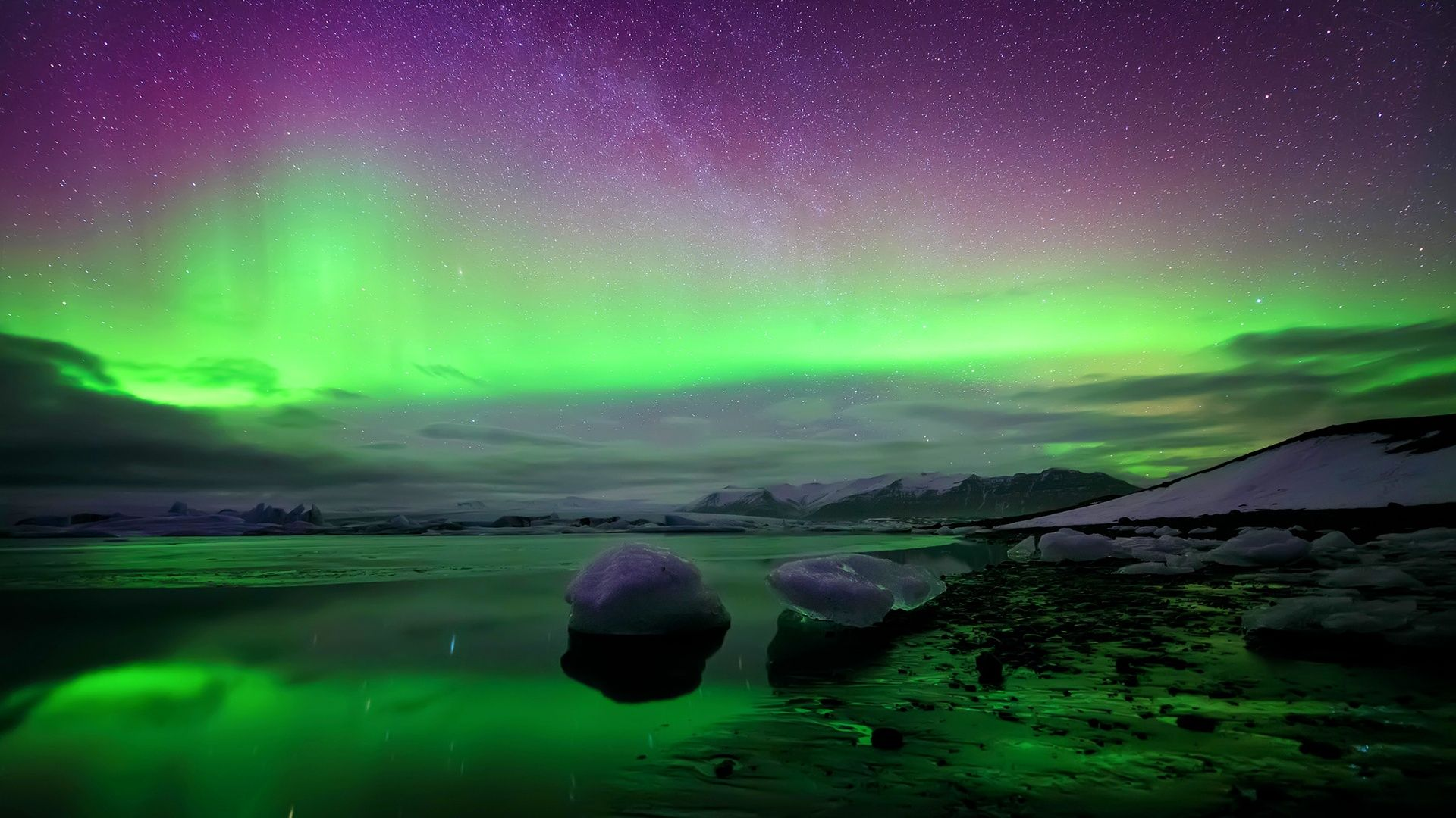 Iceland Northern Lights 1920x1080 Jpg 1920 1080 Hd Landscape Northern Lights Wallpaper Landscape Wallpaper