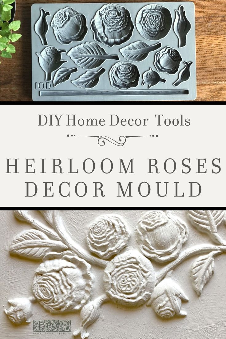 Adding vintage three-dimensional details to your painted furniture and home decor projects has never been easier! Check out the latest release of Decor Moulds from Iron Orchid Designs and learn how you can use their DIY decor products in all your home decor and craft projects. Included are moulds to create a butterfly bird daisy scroll and victorian lock & key appliques. #DecorMoulds #style #shopping #styles #outfit #pretty #girl #girls #beauty #beautiful #me #cute #stylish #photoofthe...