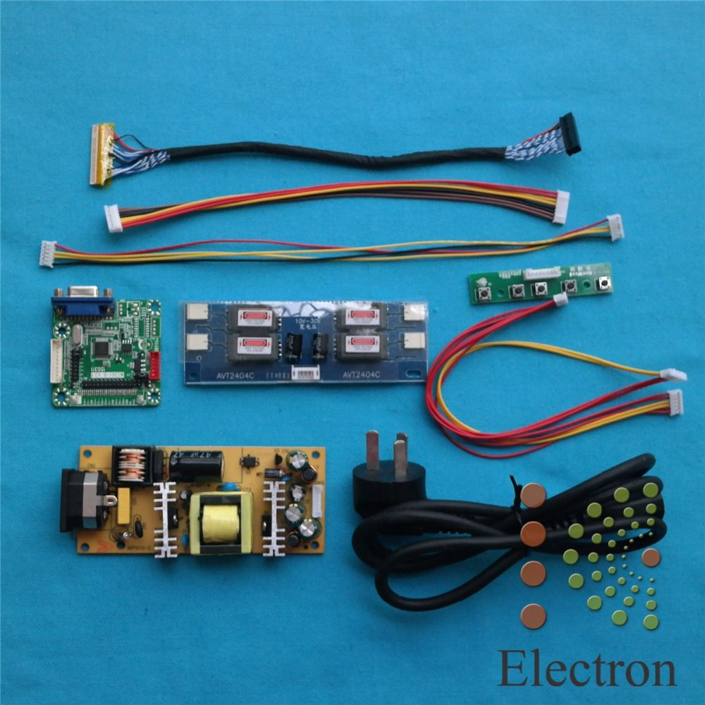Universal Driver Board +power supply board+double 8bit LVDS cable+ ...