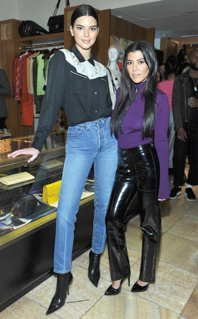 Kendall Jenner Kourtney Kardashian From The Big Picture Today S Hot Photos Kendall And Kourtney Kourtney Kardashian Style Celebrity Trends