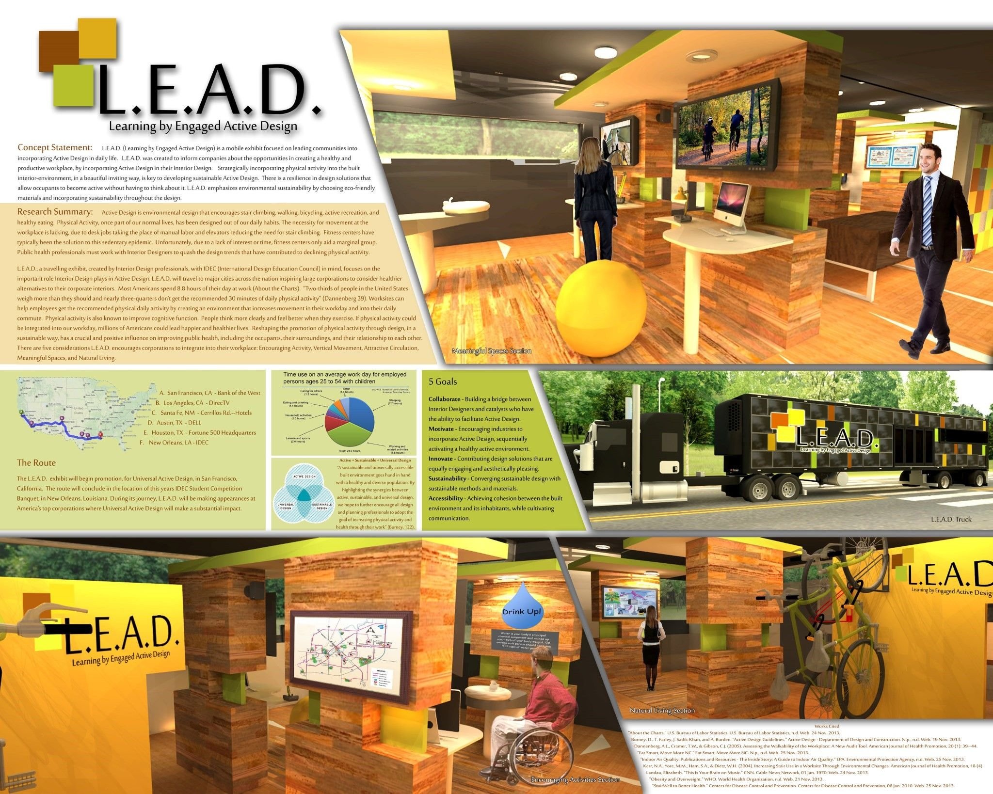 IDEC Student Competition 2014 Presentation Layout Interior
