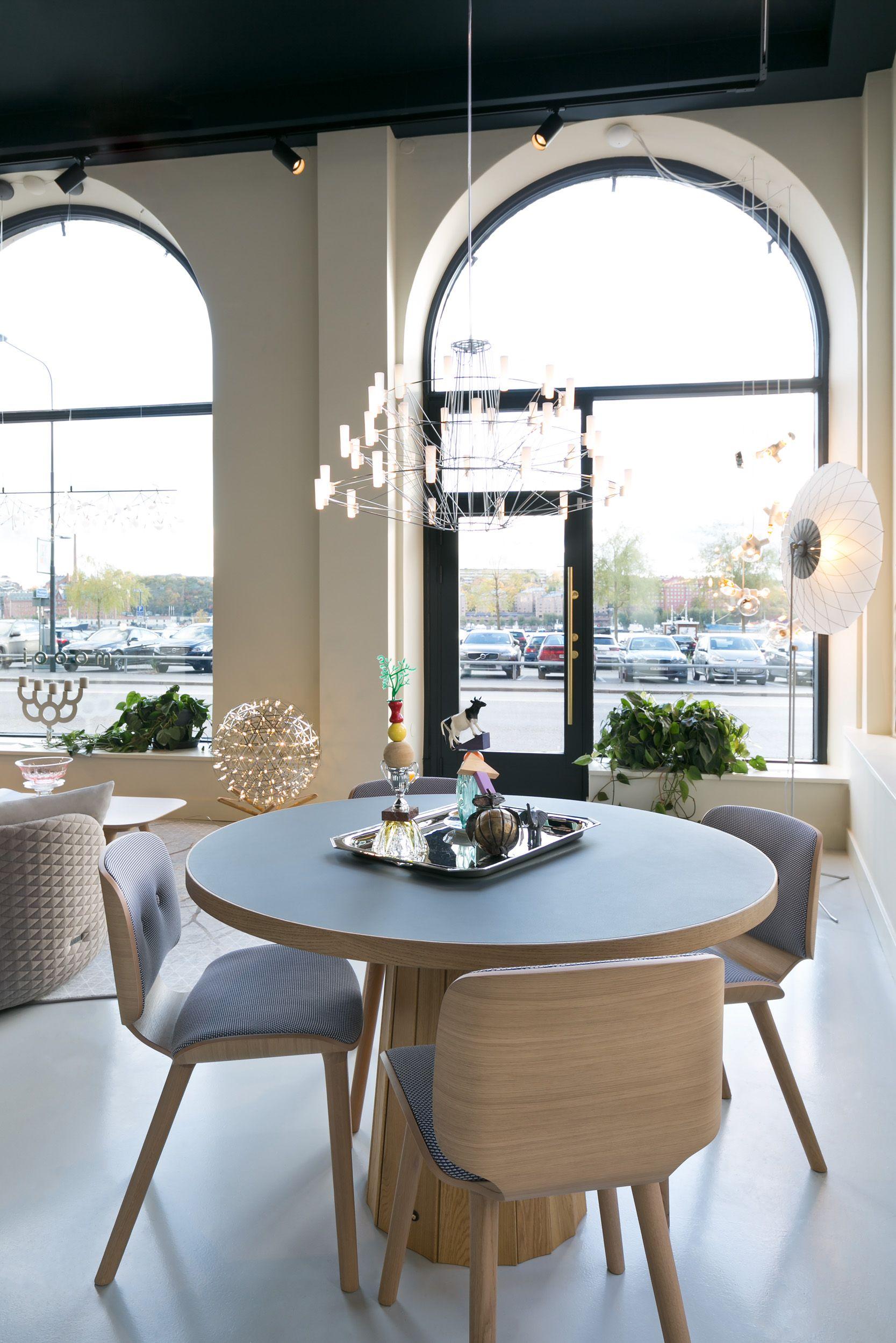 Moooi Stockholm Showroom Modern Dining Room Moooi Dining Chairs