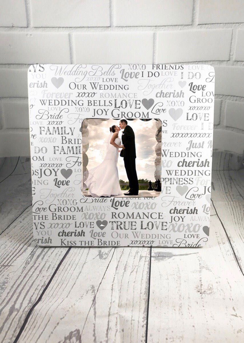 Personalized Wedding Frame, Wedding Gift, Mr and Mrs Frame, Bridal ...