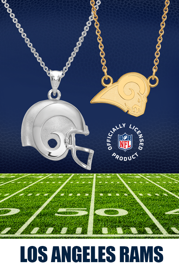 Nfl Game Of The Week It S A Battle Of Two First Place Teams This Week As The Undefeated L A Rams Take On The 6 1 Saints T Nfl Nfl Merchandise Sports Jewelry