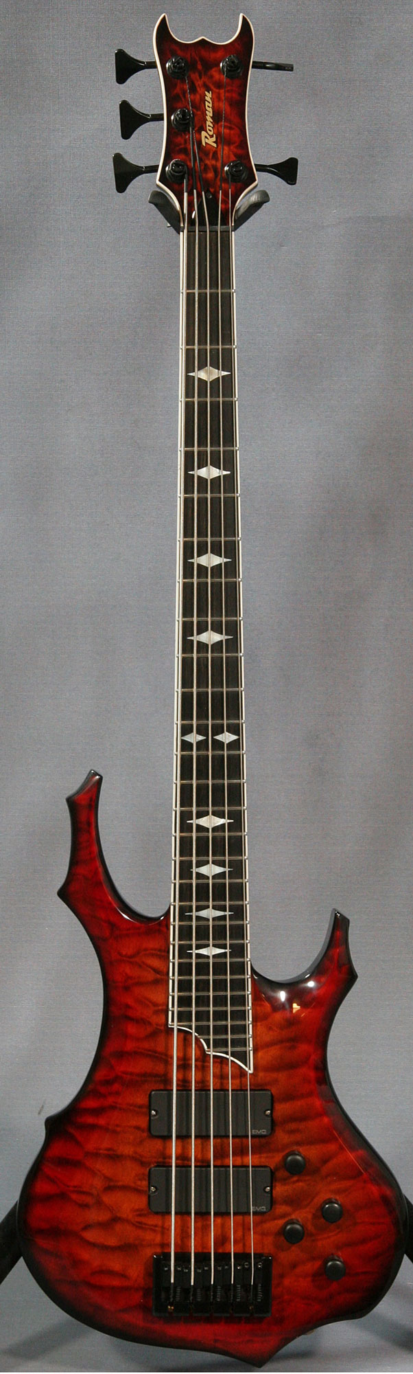 Ed Roman Custom 5 String Bass Guitar