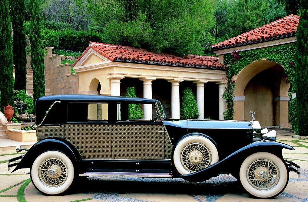 (1930) Marlborough Town Car by Brewster