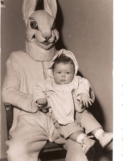 Ellens Scary Easter Photos