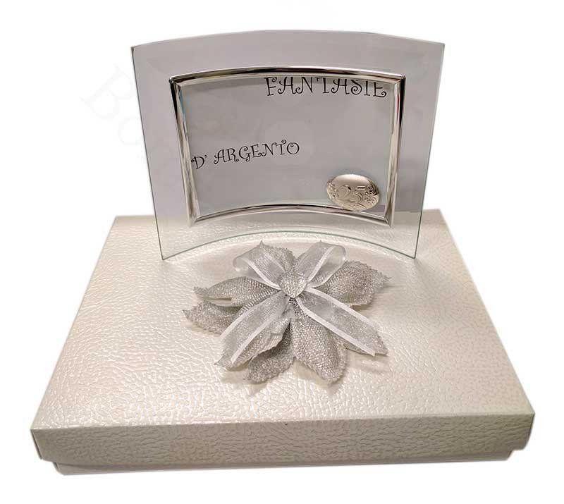 Portafoto Per 25 Anni Di Matrimonio Nozze Argento Nozze Argento Portafoto