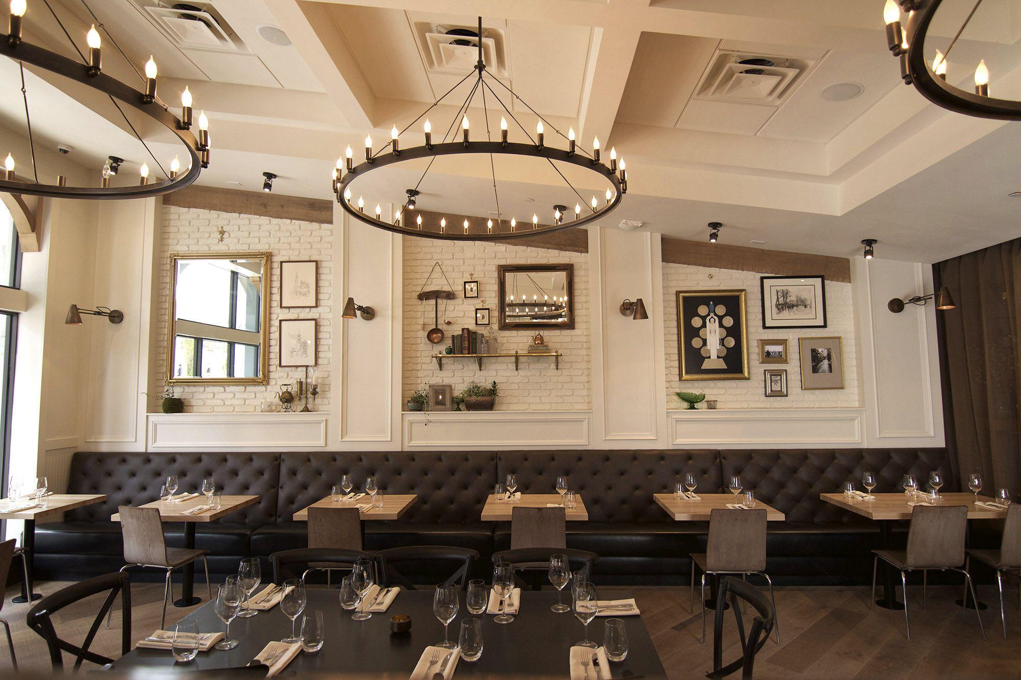 inviting restaurant interior at osprey tavern in orlando fl is made