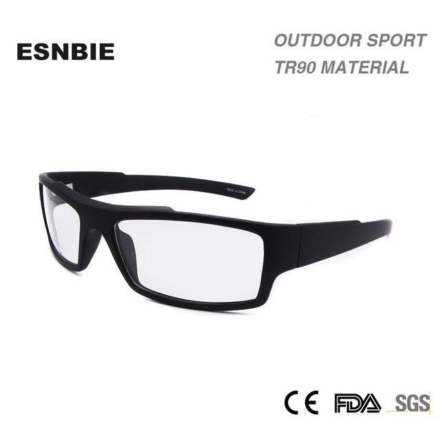 Low Cost $15.20, Buy ESNBIE Clear Glasses Frames Mens smonturas de ...