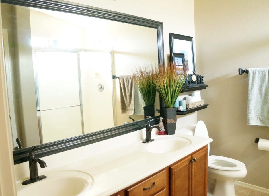 Bathroom Bathroom Mirror Frames With A Sink That Is Not ...