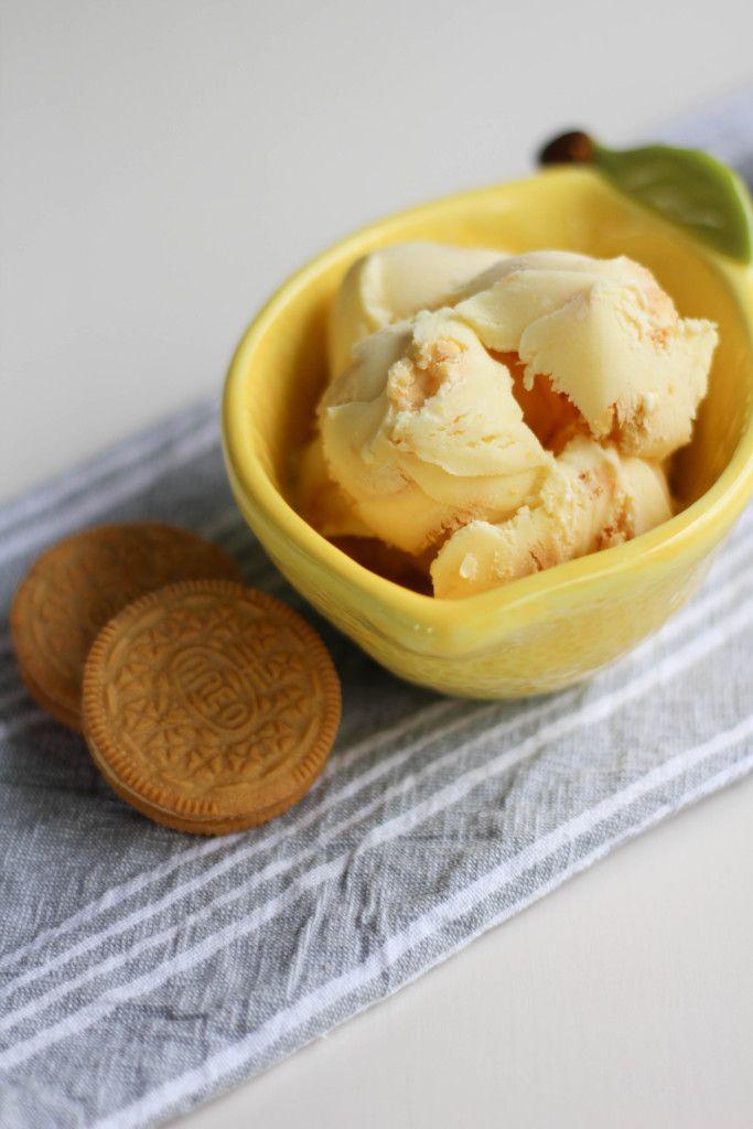 Lemon Oreo Ice Cream