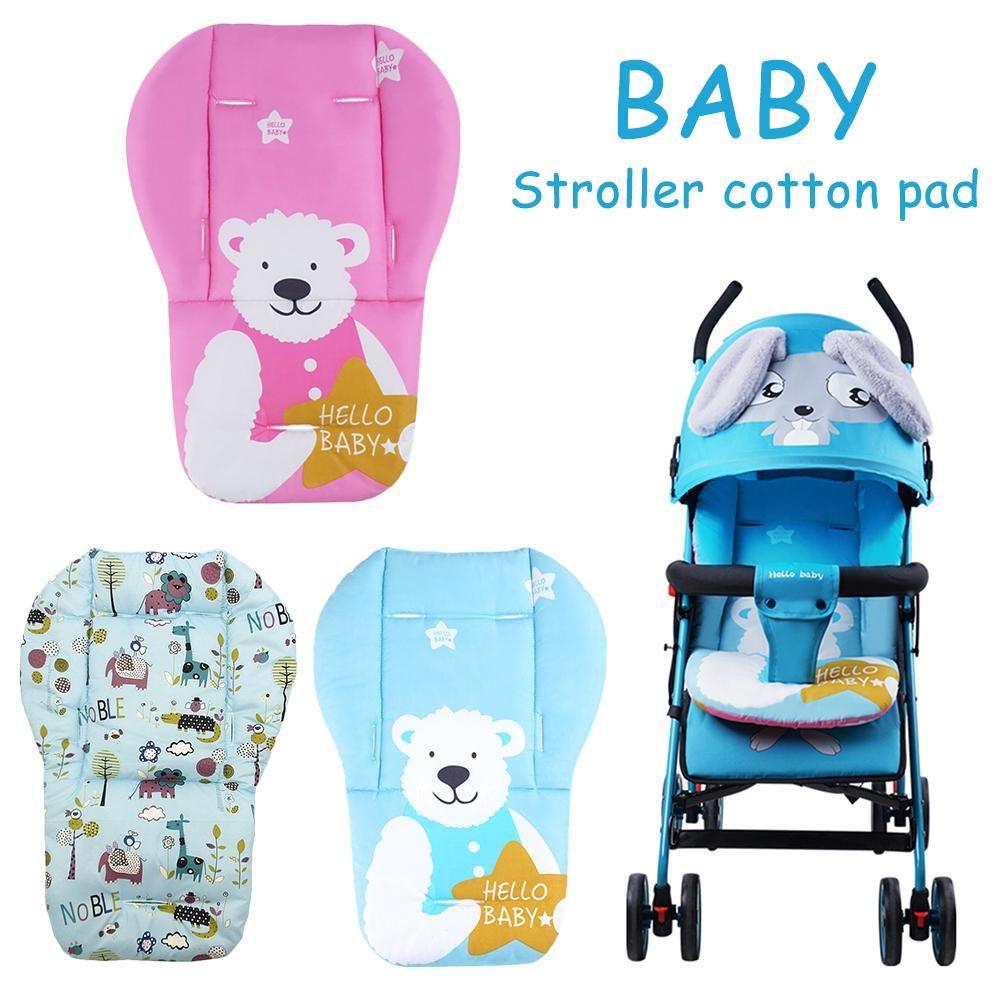 Thick Cotton Baby Stroller Seat Cushions Pushchair Pram
