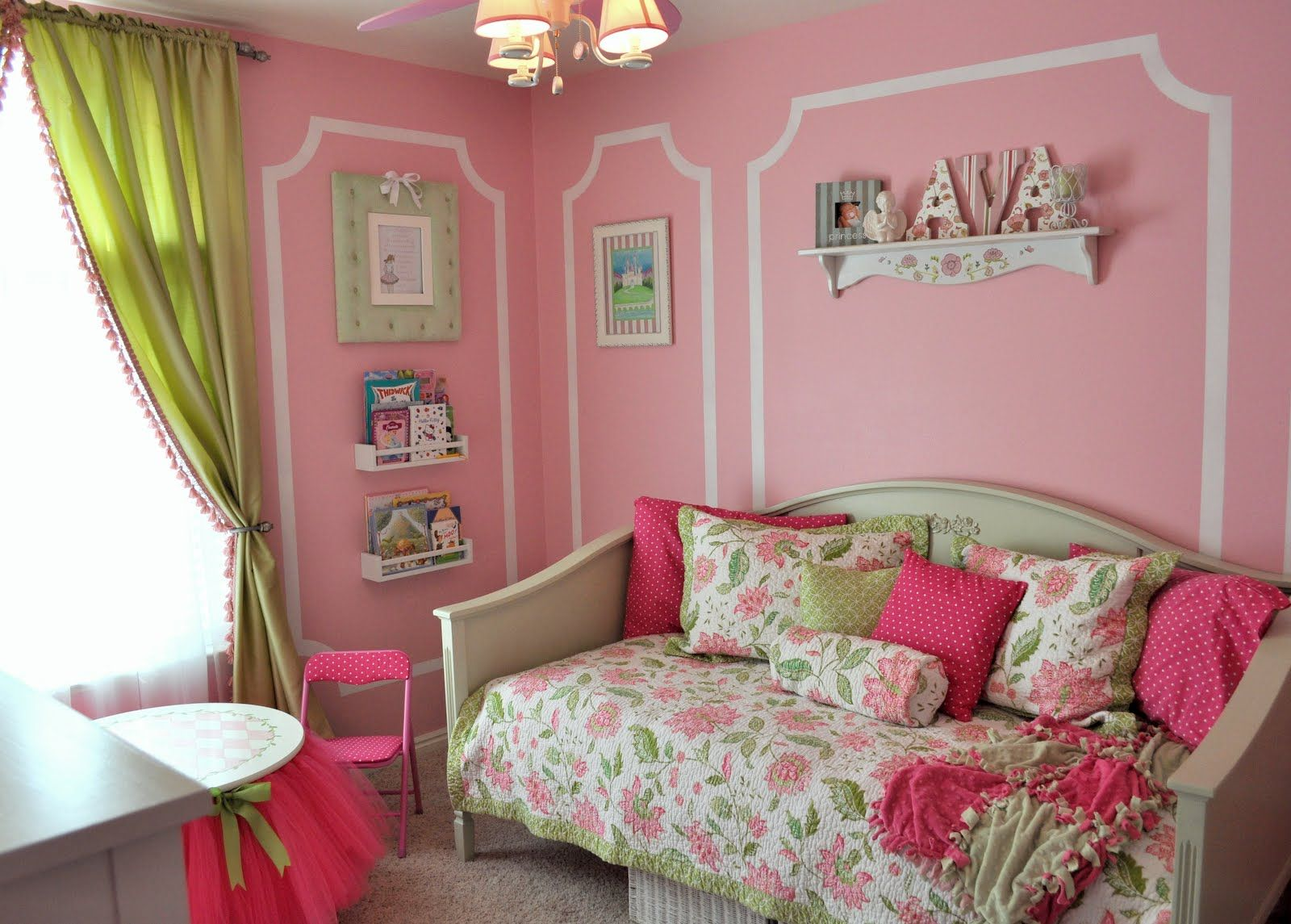 Pink And Green Bedroom Designs Beauteous Amazing Pink And Green Bedroom  Pink~Green  Pinterest  Green Design Decoration