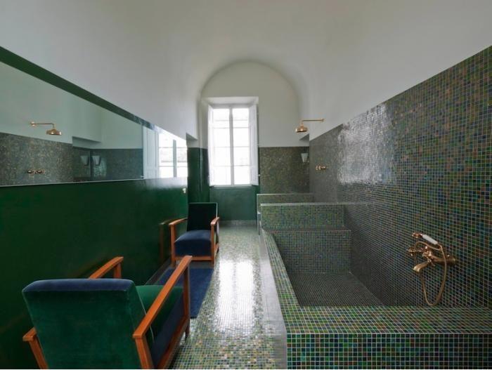 Villa Chiesuola, abandoned convent transformed into a residence by Marina Sinibaldi Benatti