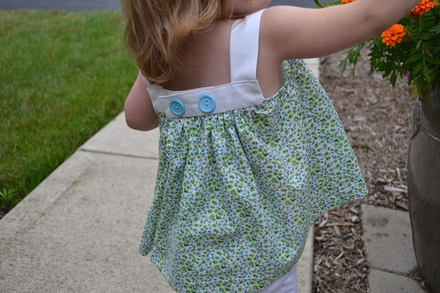 Little Quail: KCWC - Day 5 - Summer Flutter Top