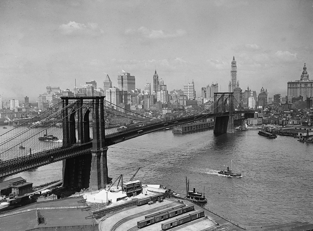 See What 1920s New York Was Like In This Roaring ... |Museum New York Skyline 1920