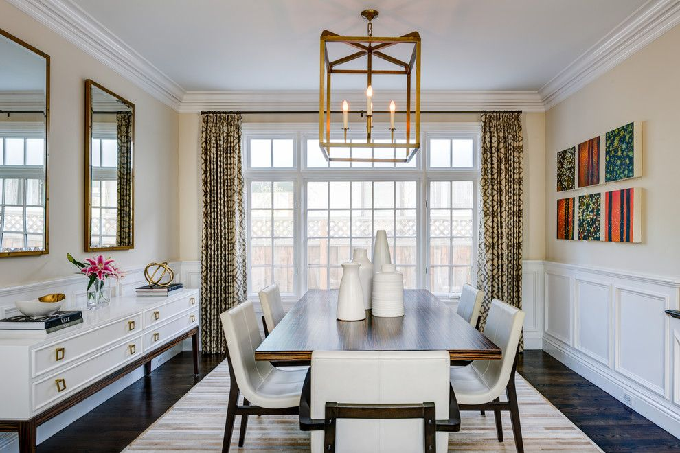 Transitional Dining Room Light Fixtures Formal Dining