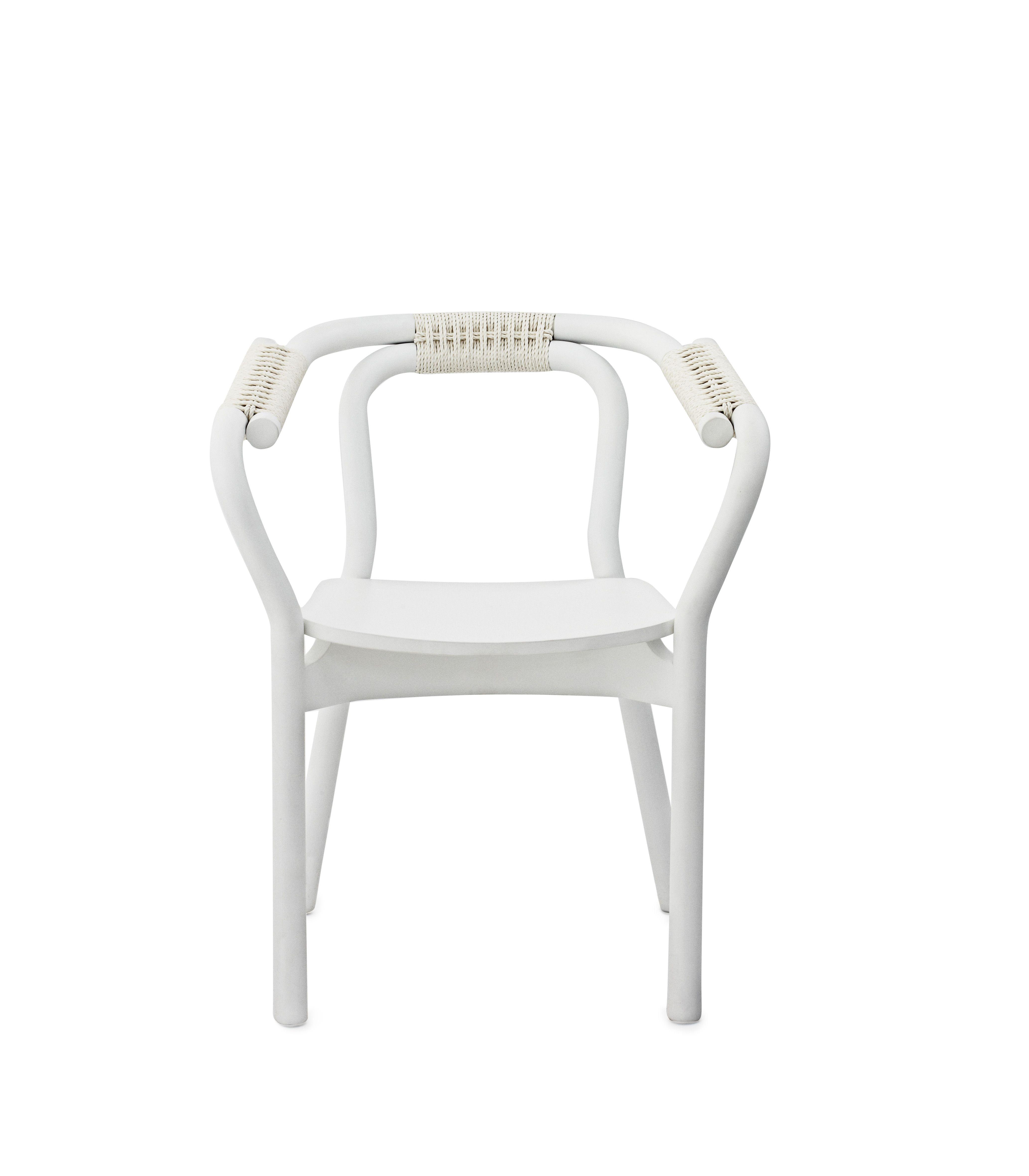 #White #chair #silla #nudo en #blanco