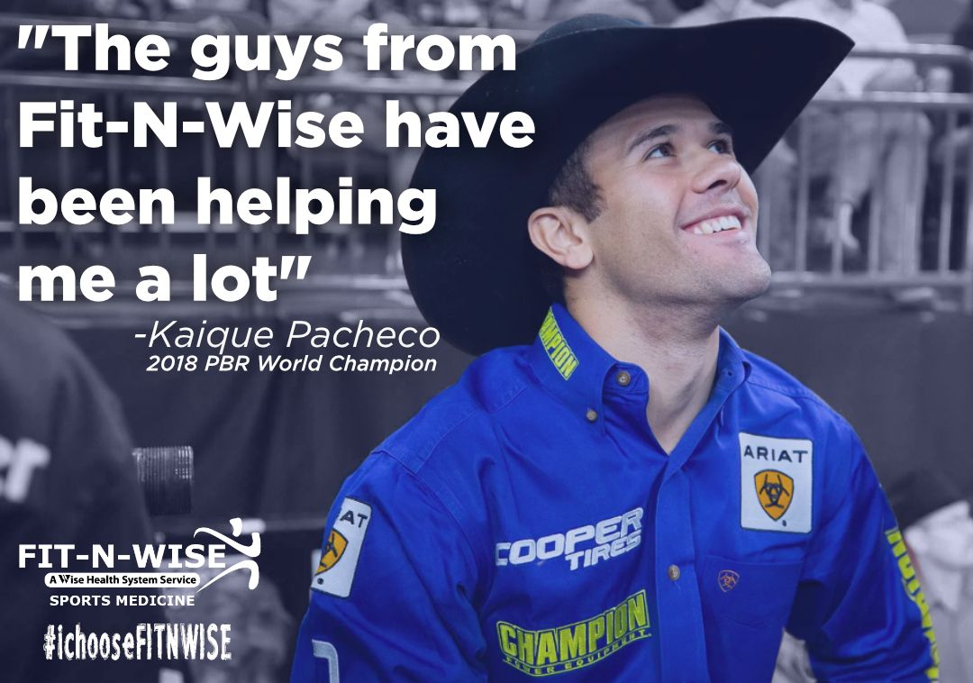 2018 PBR World Champion Kaique Pacheco chooses FitNWise