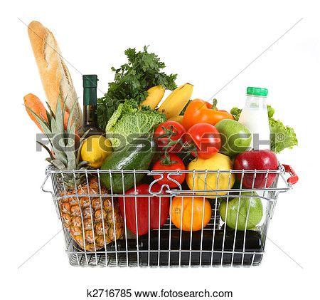 Afbeeldingsresultaat voor vers fruit in boodschappenmandje
