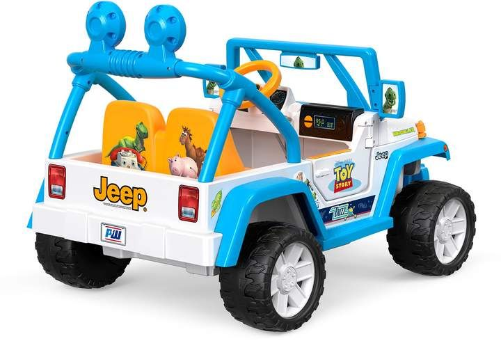 Fisher-Price Fisher-Price& Power Wheels& Disney& Pixar Toy Story Jeep& Wrangler ...