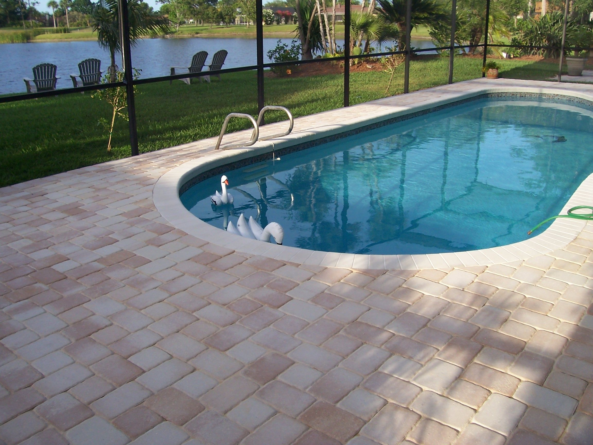 Pool Pavers And Coping Pool Pavers Remodel Your Pool Deck With Pavers From