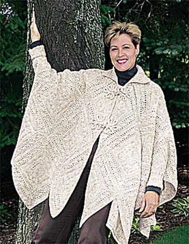 Knitting patterns galore counterpane poncho serenity pinterest knitting patterns galore counterpane poncho dt1010fo
