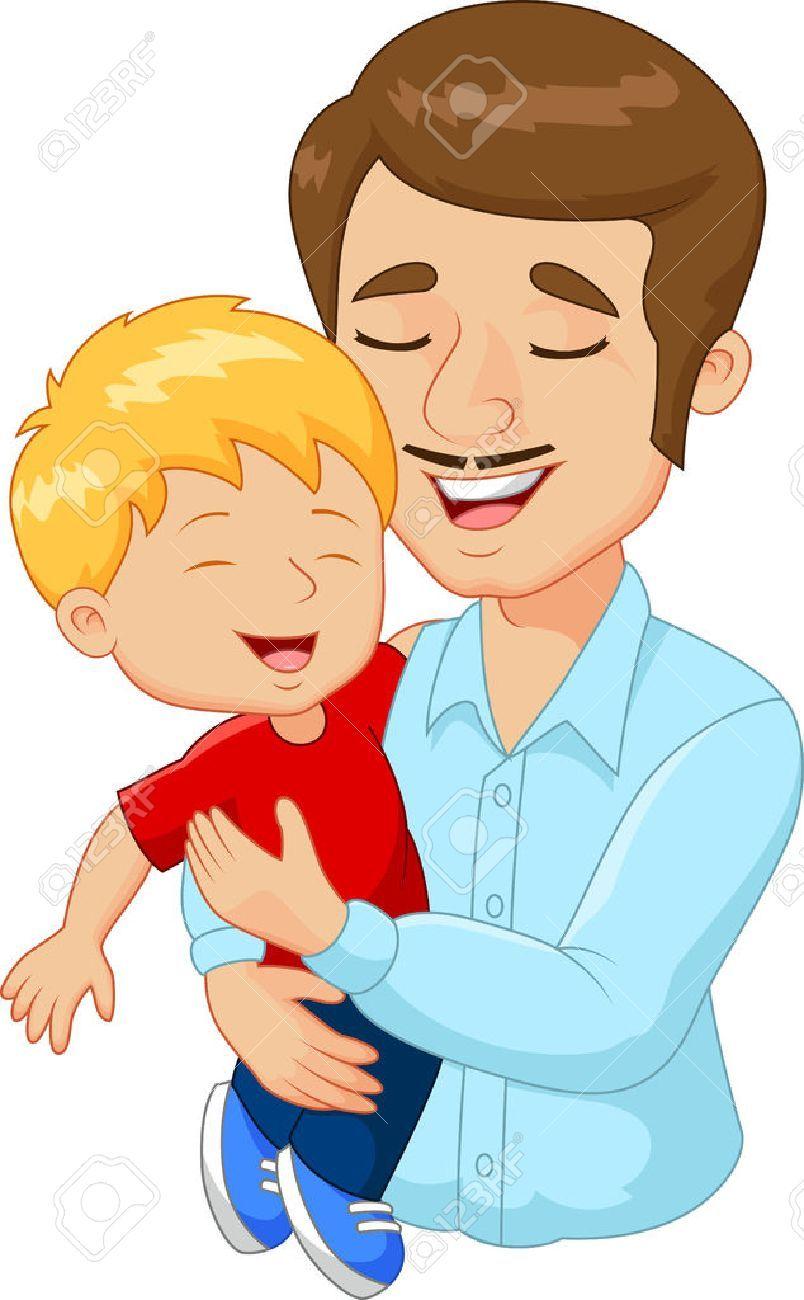 Imagenes De Un Padre Abrazando A Su Hijo Buscar Con Google Father Cartoon Character Design Animation Cartoon