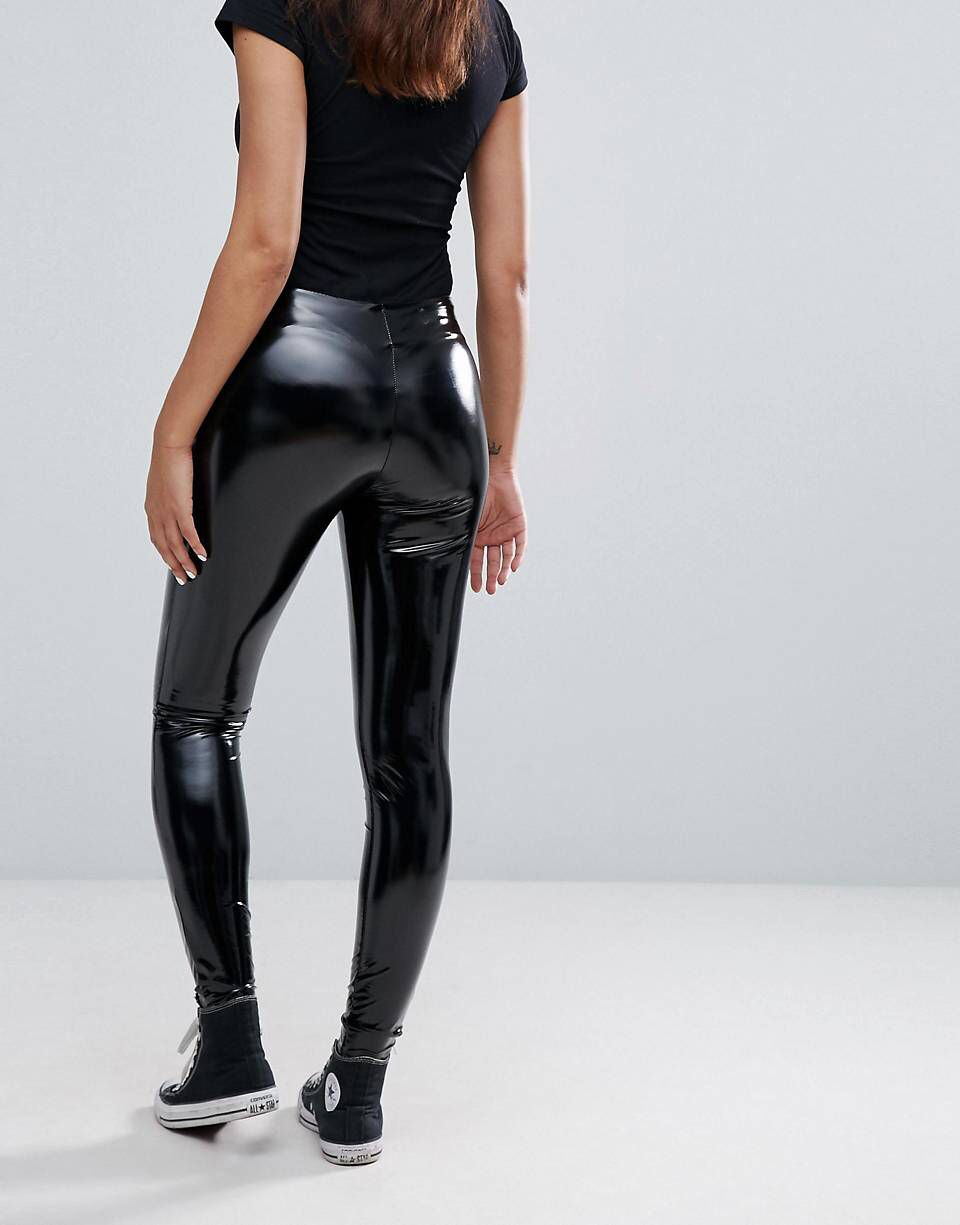 b5d6c4d874e26a MEGA-Teile von ASOS! | sexy shiny butt in 2019 | Leder leggings ...
