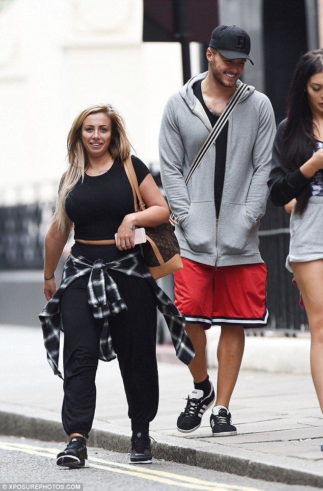 Geordie Shore exes Holly Hagan and Kyle Christie put on flirty