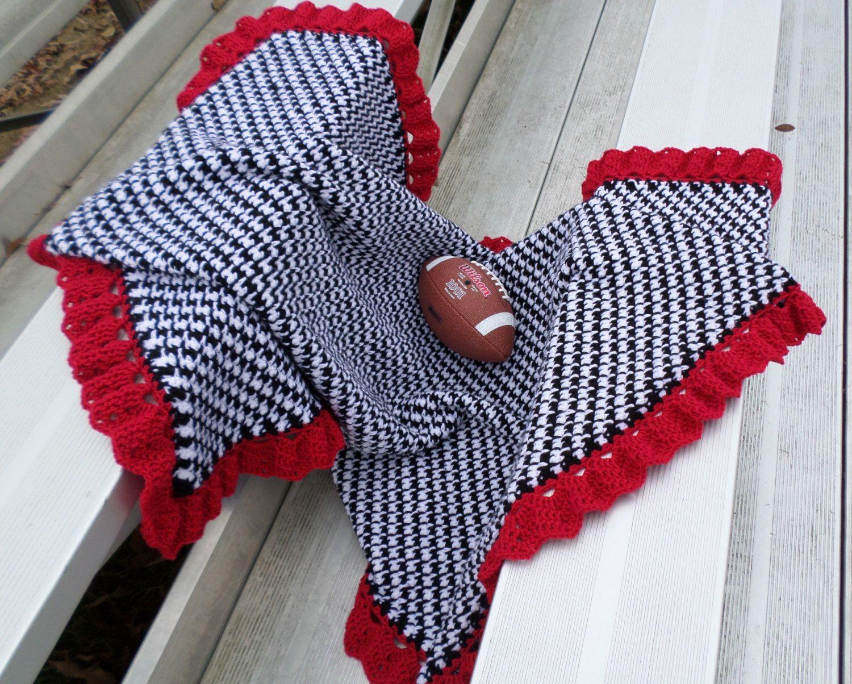 Alabama Throw - Baby Blanket - Houndstooth - Football- Roll Tide ...